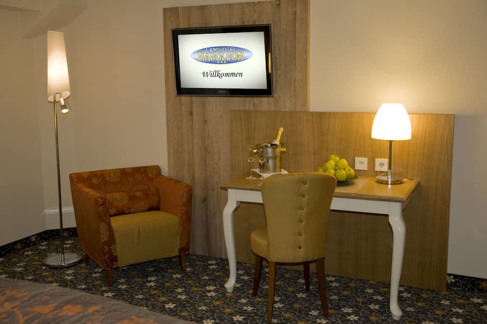 חדר סטנדרט זוגי - אזור מגורים