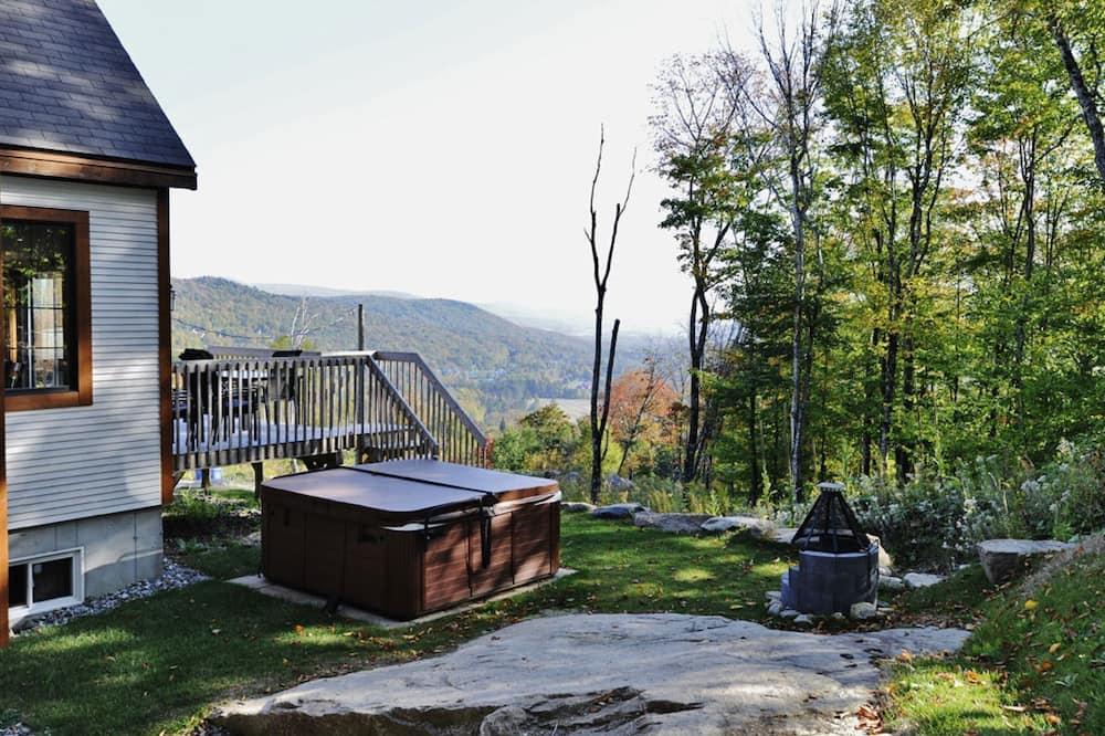 Alpehytte - 5 soveværelser - køkken - bjergudsigt (34 chemin Blanc) - Terrasse/patio