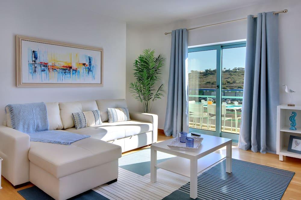 Διαμέρισμα, 1 Υπνοδωμάτιο, Μπαλκόνι, Θέα στη Μαρίνα - Καθιστικό