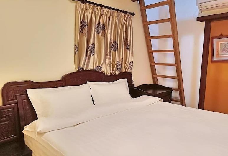 Shang Deng Hostel, Jinhu, Elite Loft, 1 King Bed, Ensuite, Mezzanine, Guest Room
