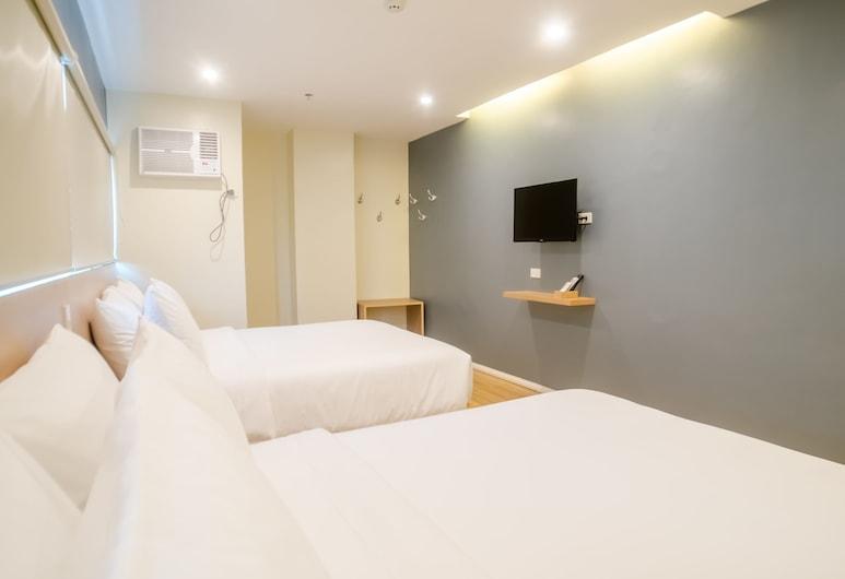 بريدج هوتل, كاجايان دي اورو, غرفة ديلوكس مزدوجة (Queen), غرفة نزلاء