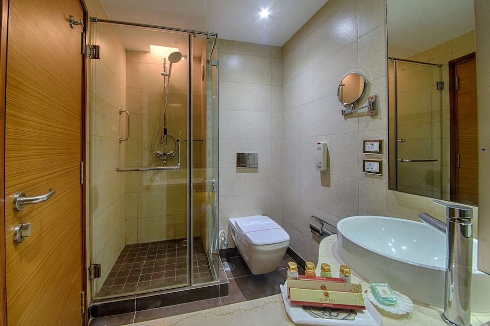 豪華雙人房, 1 間臥室, 城市景 - 浴室