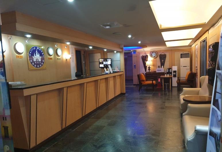 Gallery Hotel, Geoje, Interior Entrance