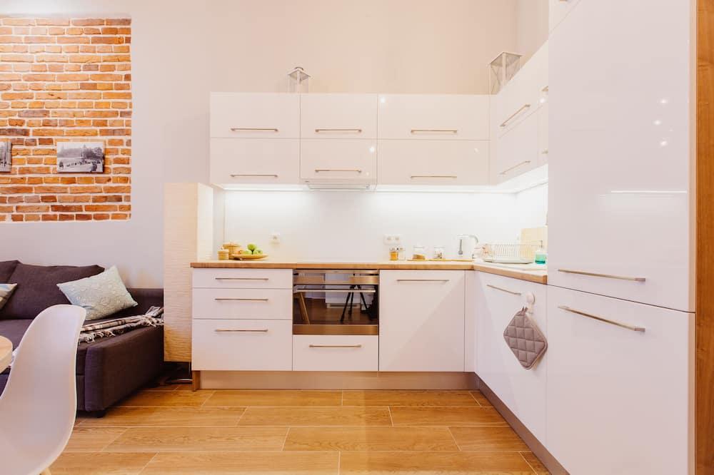 Appartamento Grand, non fumatori, angolo cottura (2) - Pasti in camera