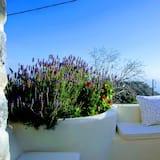 Tradicionāla villa, skats uz kalniem - Terase/iekšējais pagalms