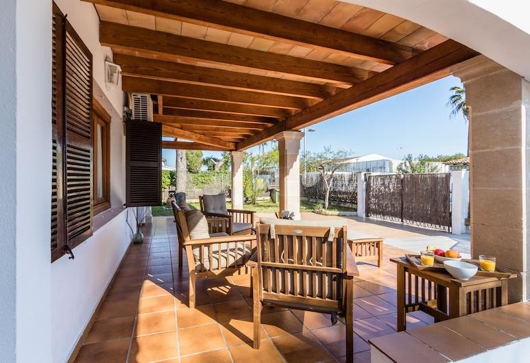 Chalet Falcó with private pool, Алькудія, Будинок, 3 спальні, приватний басейн, Тераса/внутрішній дворик