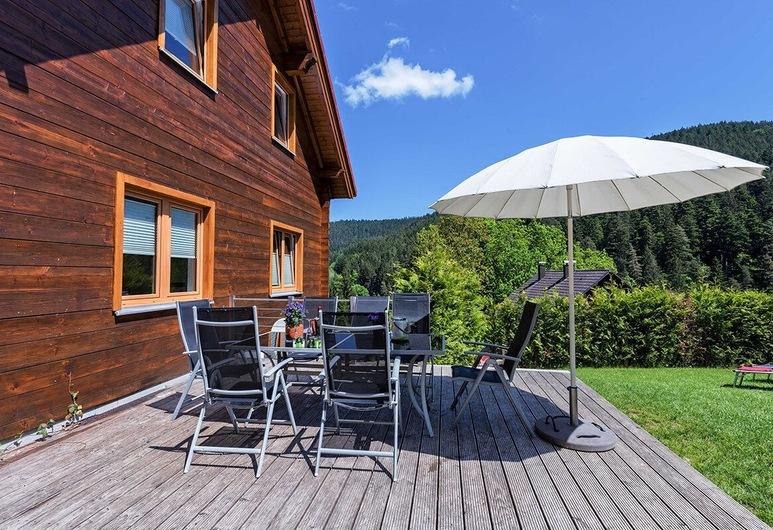 Wellness Ferienhaus Fronwald, Alpirsbach, Terraza o patio
