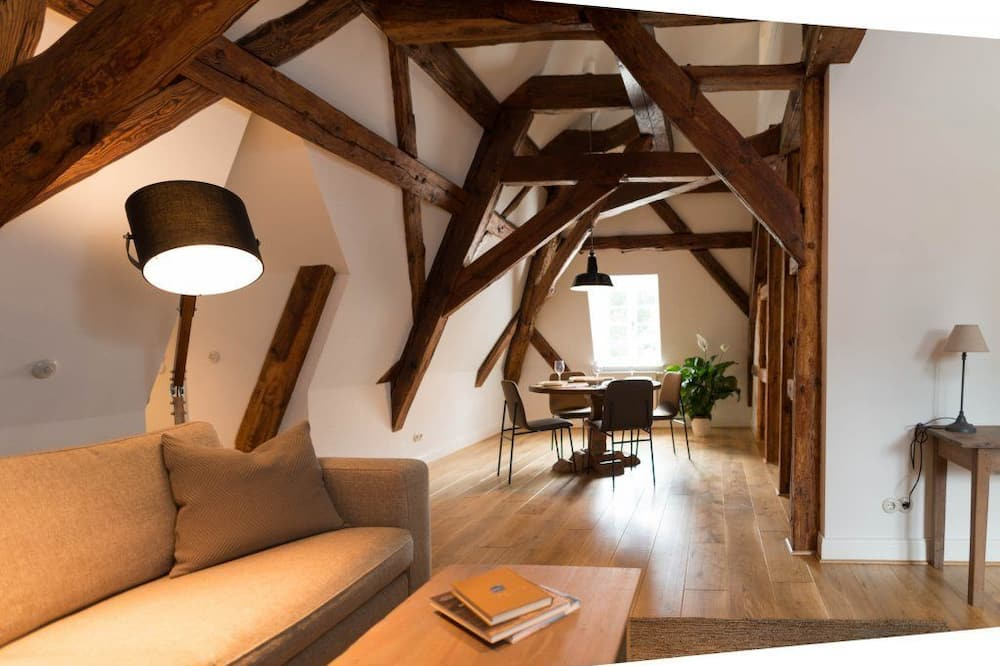 Apartment (Maisonette - No. 5) - Living Area
