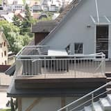 Apartment 1 (incl. cleaning fee & laundry package) - Parveke