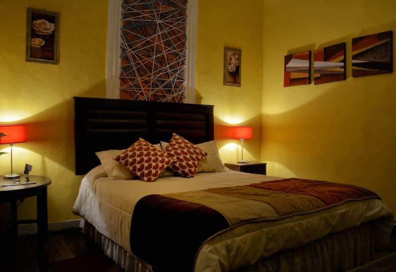 瓦爾帕萊索我的愛青年旅舍, 法爾巴拉索, 標準客房, 1 張標準雙人床, 非吸煙房, 私人浴室 (Bali), 客房