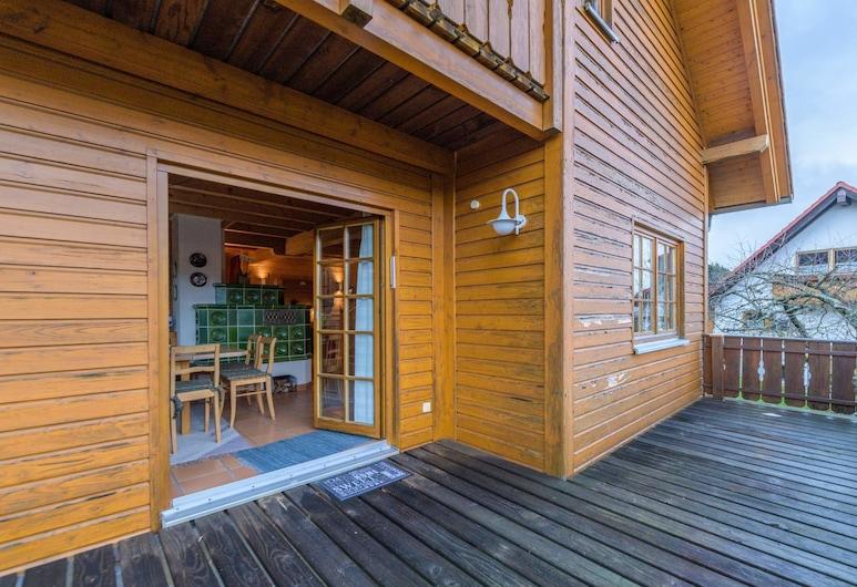 Holzhaus Oberbrändi, Lossburg, Kuća (incl. laundry & cleaning fee), Terasa/trijem