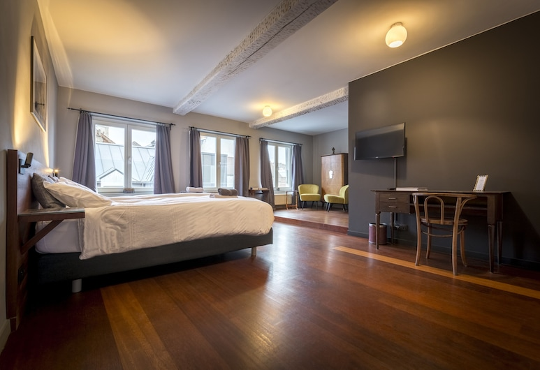 克瓦迪罕 52 號民宿 - 根特魔法飯店, 根特, 豪華雙人房, 客房