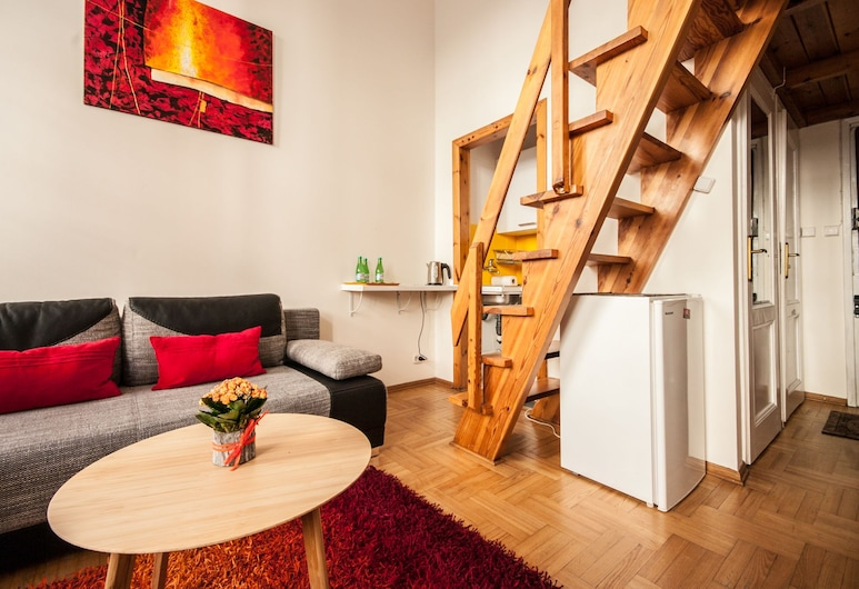 Elegant Apartment Royal Castle, Varsova, Deluxe-huoneisto, Huone
