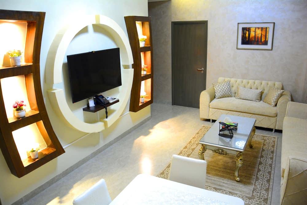 Family Διαμέρισμα, 2 Υπνοδωμάτια, Θέα στην Πόλη - Περιοχή καθιστικού