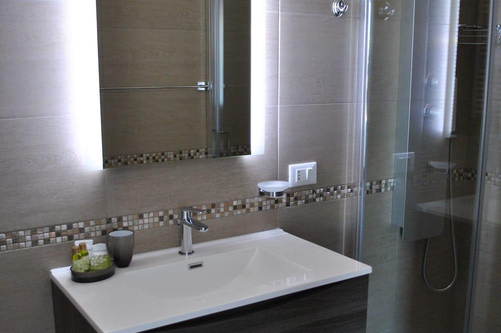Kahden hengen huone, Parveke (Granchio Verde) - Kylpyhuone