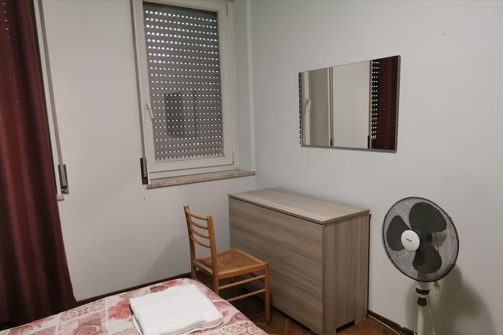 Economy-Einzelzimmer, 1 Doppelbett, Parkblick - Wohnbereich