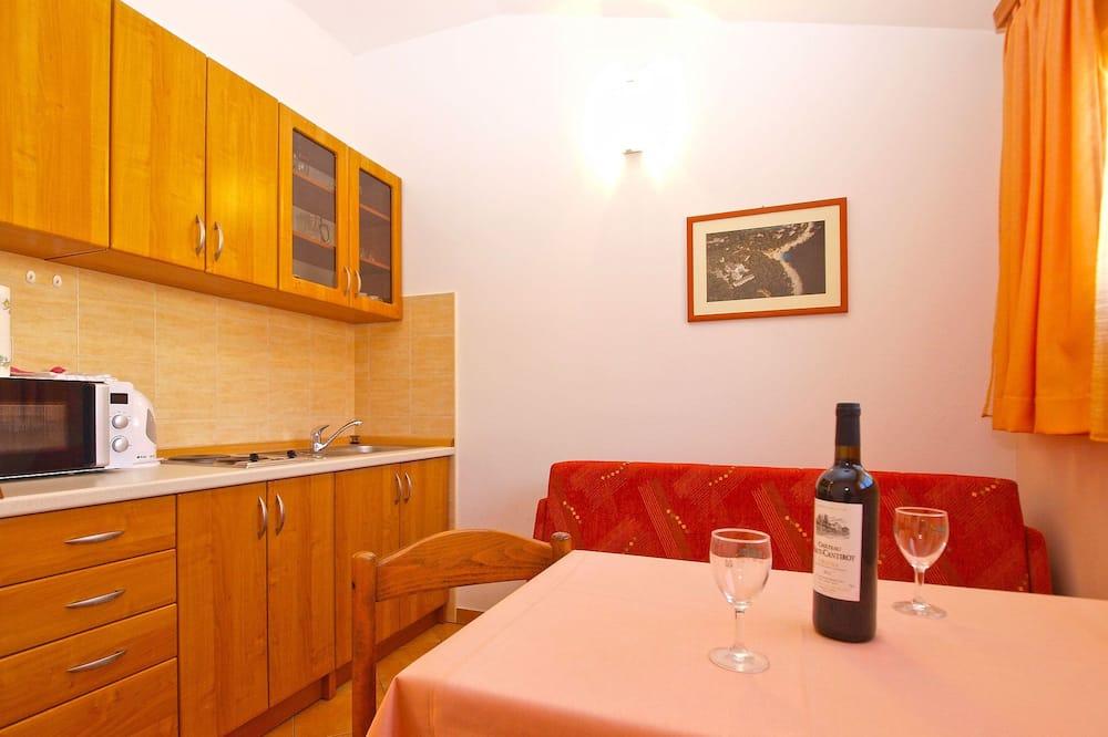 Standard apartman, 1 hálószobával (0316) - Étkezés a szobában
