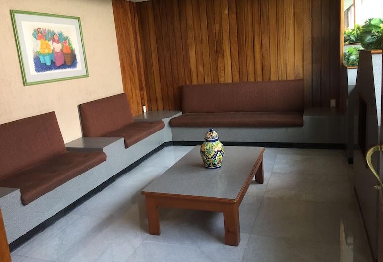 Hotel Manolo 1, Mexiko-Stadt, Wohnbereich