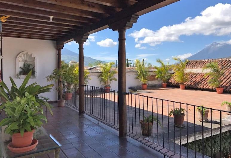 Loft El Chiquito, Antigua Guatemala, Terassi/patio