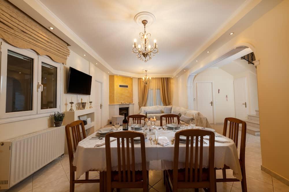 Villa, 3 chambres - Restauration dans la chambre
