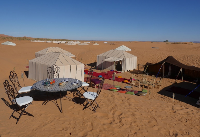 Royal Luxury Camp, Taouz, Outdoor Dining