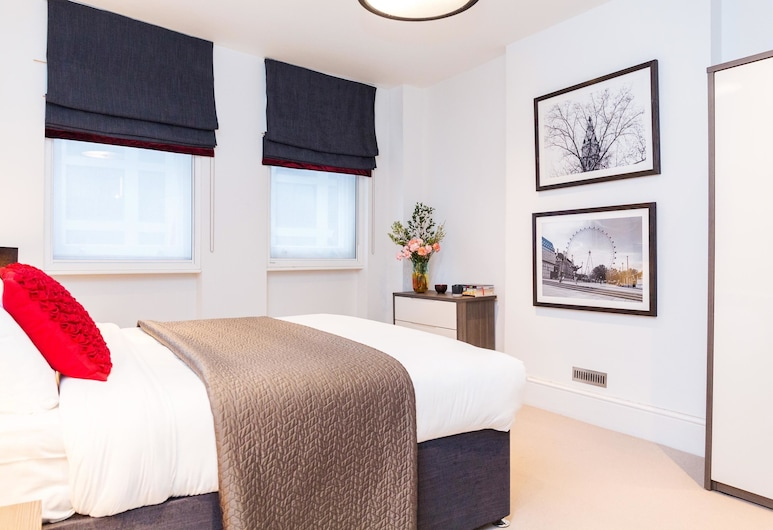 Native Leicester Square , London, Premium-Apartment, 1 Schlafzimmer, Stadtblick, Zimmer