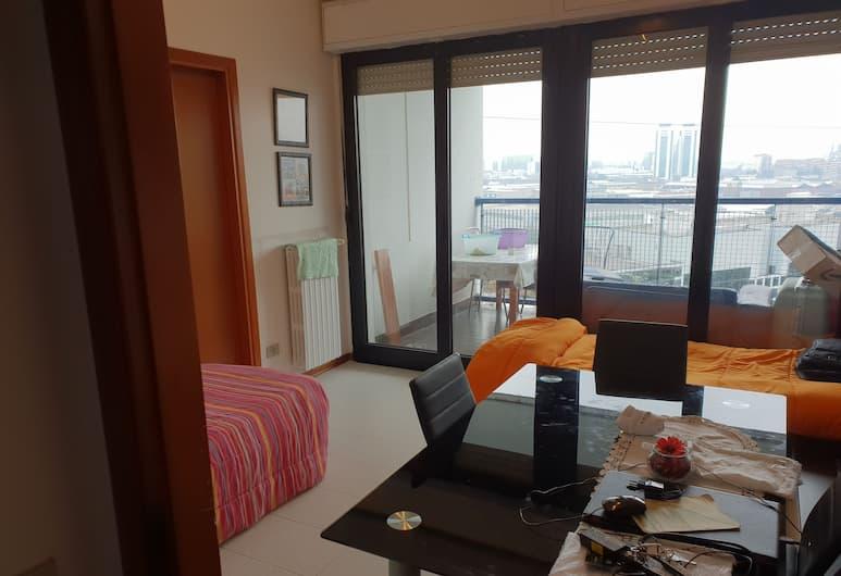 Bisceglie Apartments, Milan, Asrama Umum Basic, kamar mandi umum, pemandangan kota, Kamar Tamu