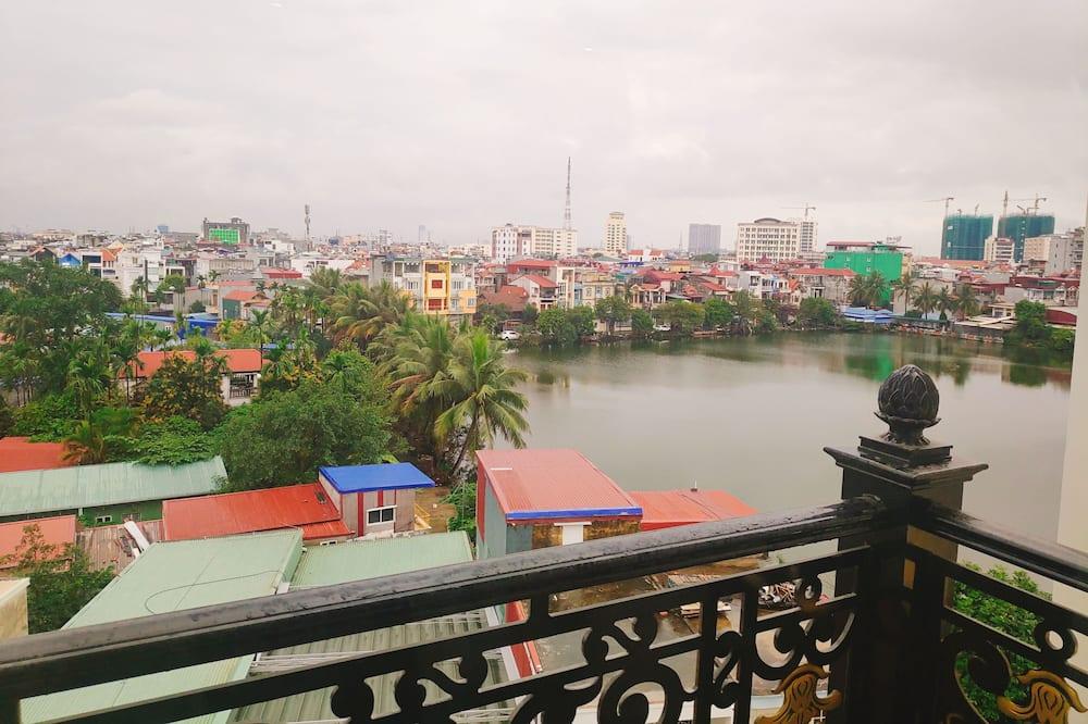 Executive kamer, uitzicht op meer - Balkon