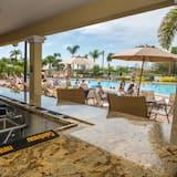 Appartement, 4 chambres - Bar en bord de piscine