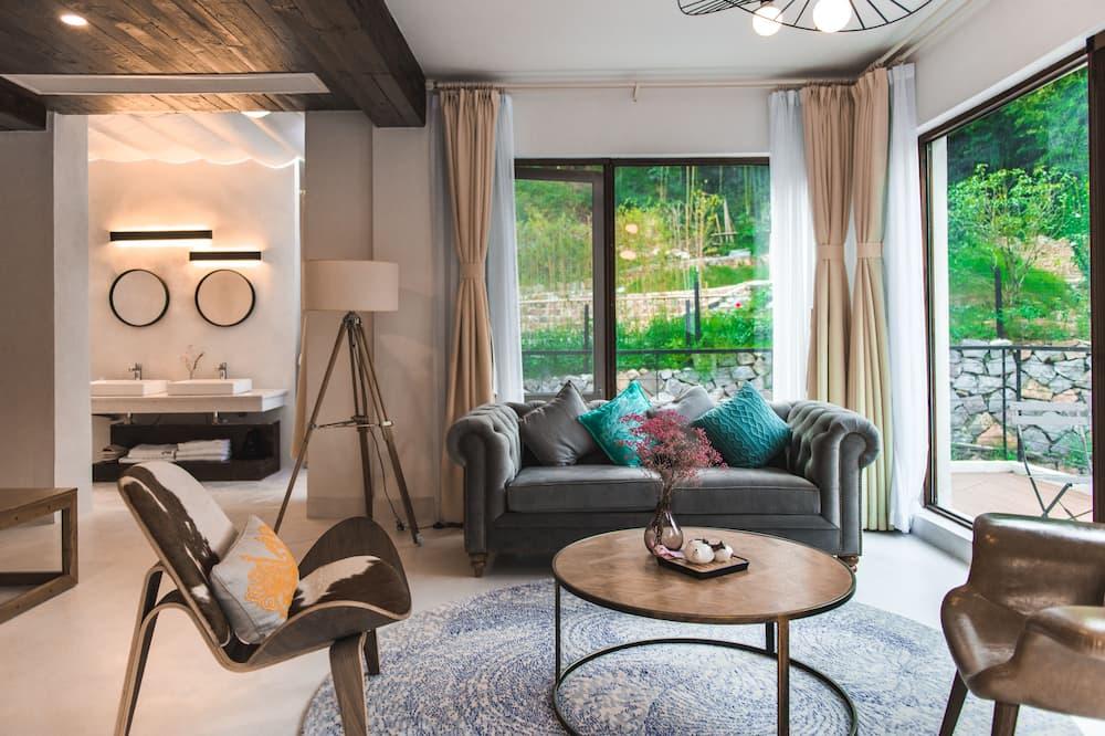 Habitación Grand - Sala de estar