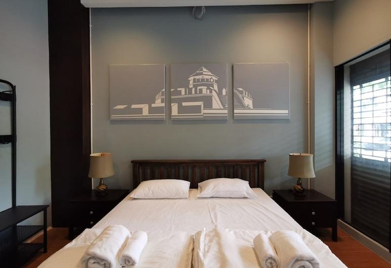 A Bangkok Journey Hostel Sukhumvit, Bangkok, Private Room, Bilik Tamu