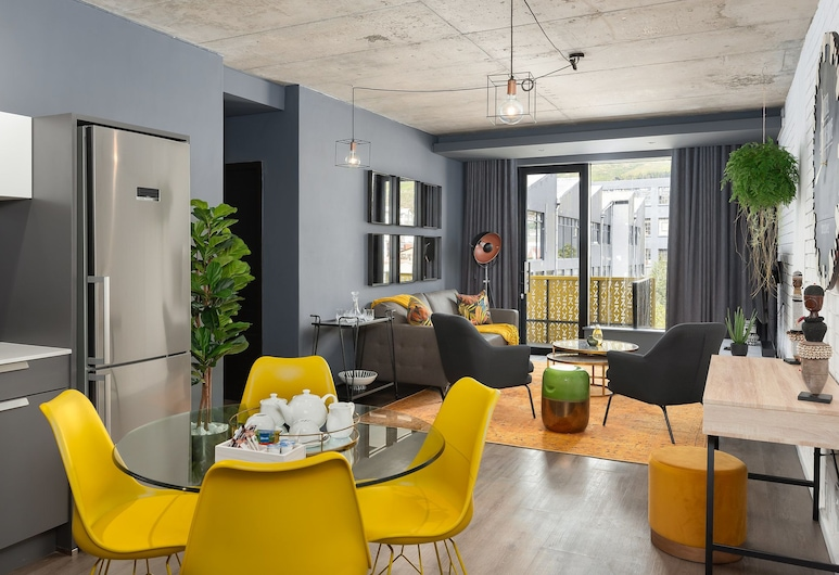 Wex1 Living - Serviced Apartments, Cape Town, Apartment, 2 Bedrooms, Living Area