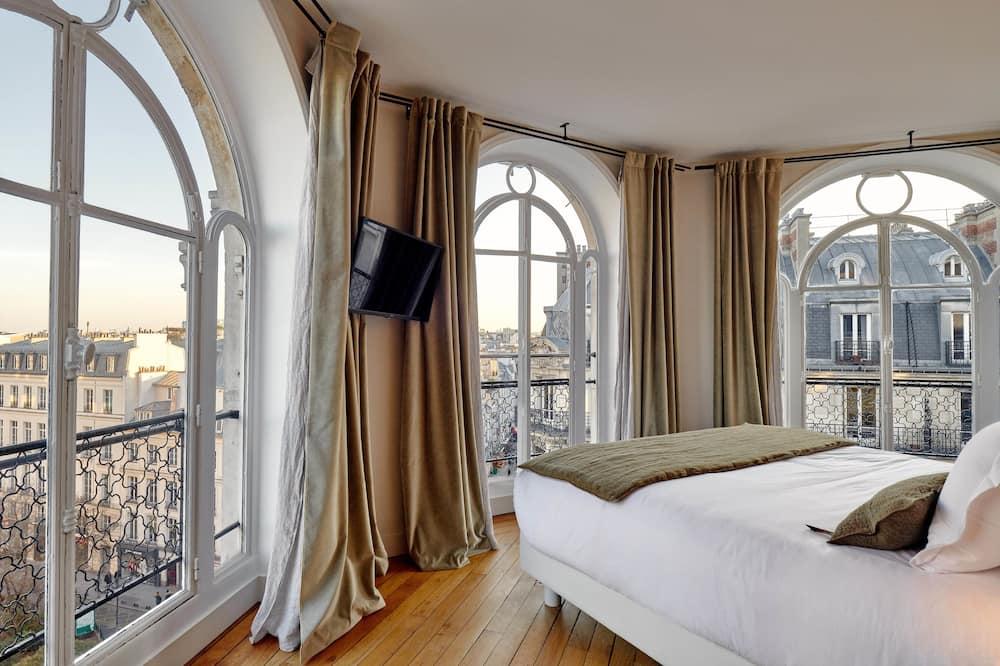 Deluxe-Doppelzimmer - Ausblick vom Zimmer
