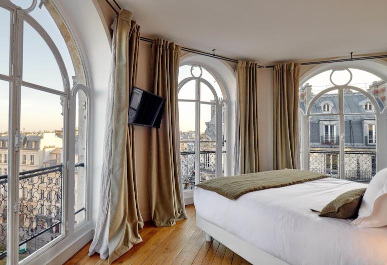 ティナ パリ, パリ, デラックス ダブルルーム, 部屋からの眺望