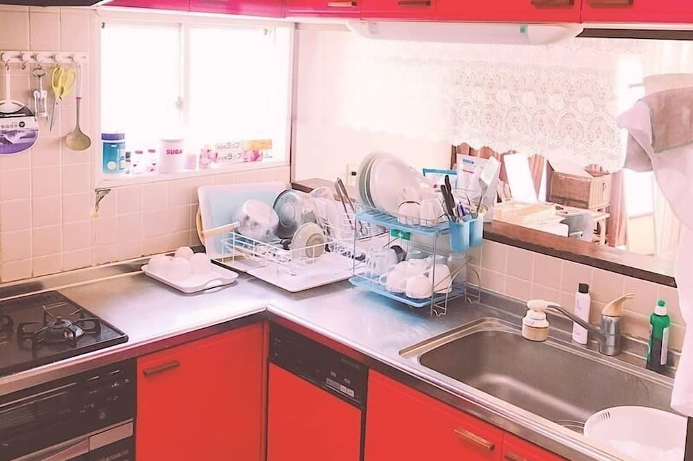Japanese Style Triple Room - Shared kitchen