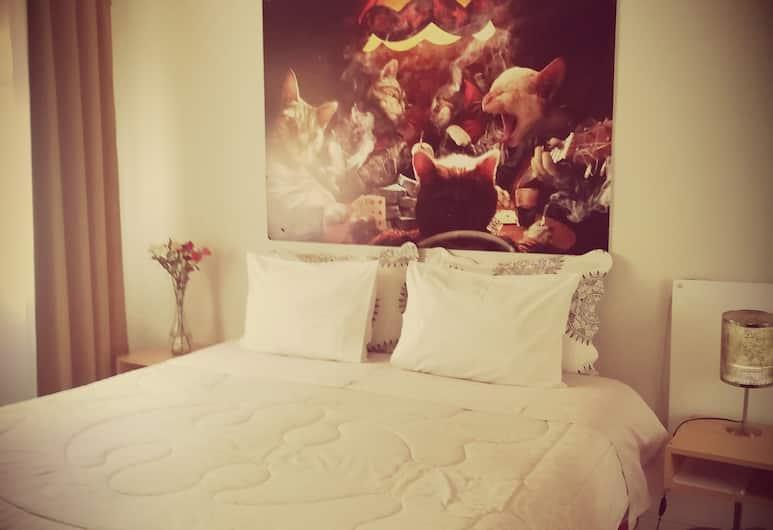 撲克青年旅舍, 聖地牙哥, 經典雙人房, 1 張特大雙人床, 客房