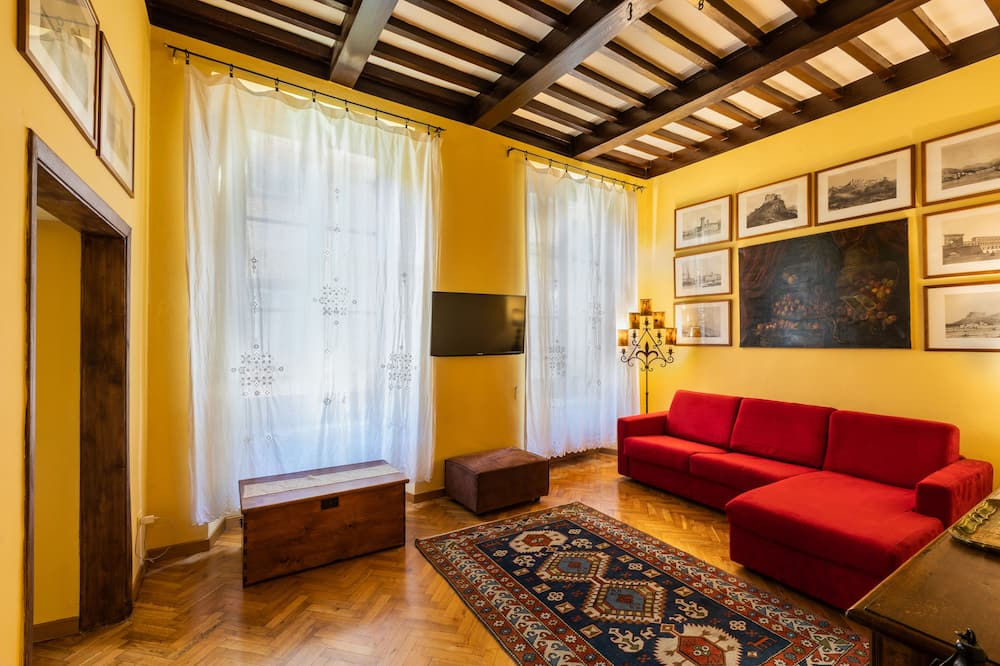 Apartment, 1 Schlafzimmer - Wohnbereich