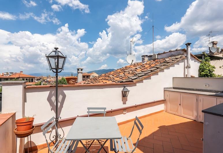 Ponte Vecchio Terrace, Florence, Apartment, 1 Bedroom, Terrace/Patio