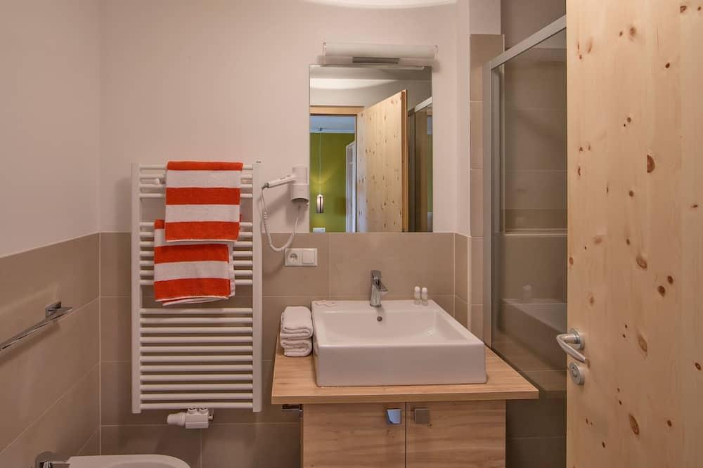 Double Room (Panorama) - Bathroom