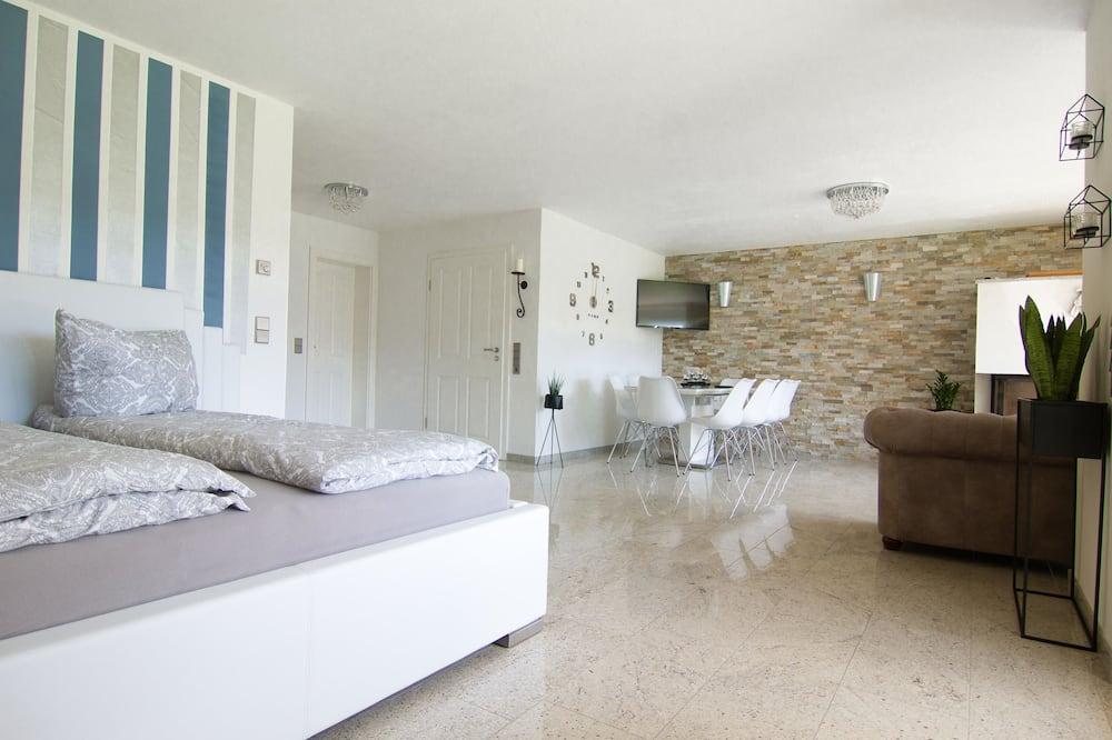 Pagerinto tipo apartamentai (2) - Svetainės zona