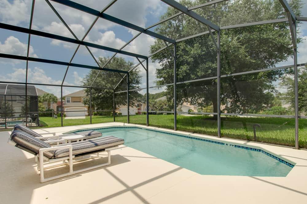 Huis, 4 slaapkamers - Binnenzwembad