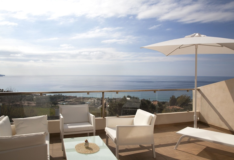 Airone Residence, Zambrone, Apartment, 1 Bedroom, Sea View, Terrace/Patio
