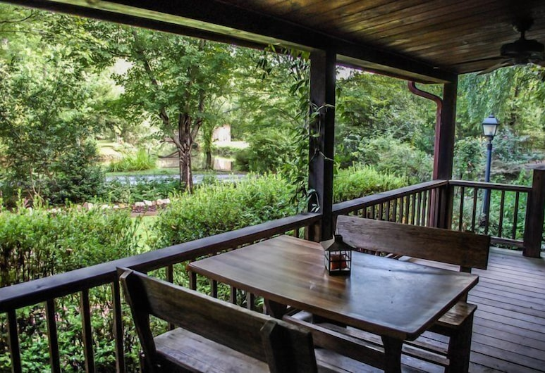 Bear Lake Lodge, Blue Ridge, Ferienhaus, Balkon