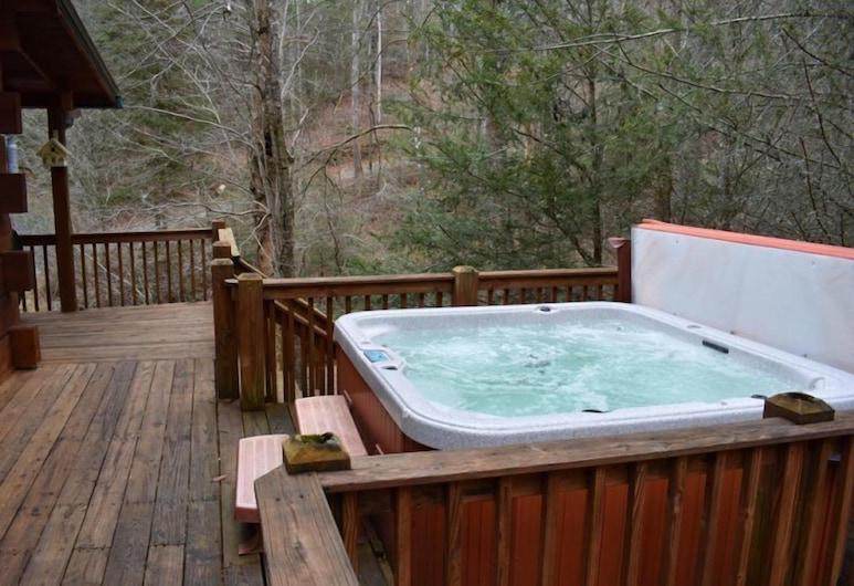 Our Favorite Place, Blue Ridge, Bañera de hidromasaje al aire libre