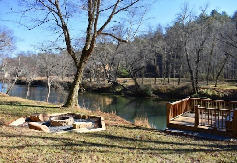 River Escape On The Toccoa, Mineral Bluff, Property Grounds