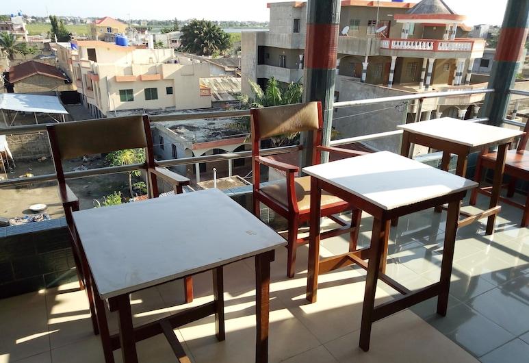 Hôtel Joca, Cotonou, Terrace/Patio
