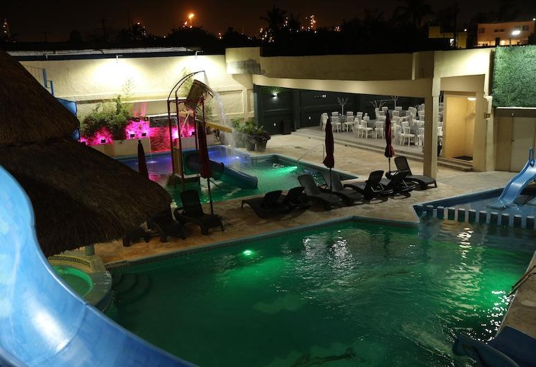 Hotel Miramar Inn, Ciudad Madero, Piscina