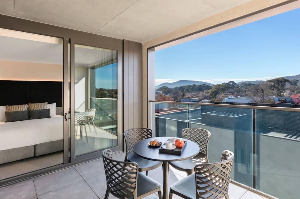 Luxury-Apartment, 2Schlafzimmer, barrierefrei - Balkon