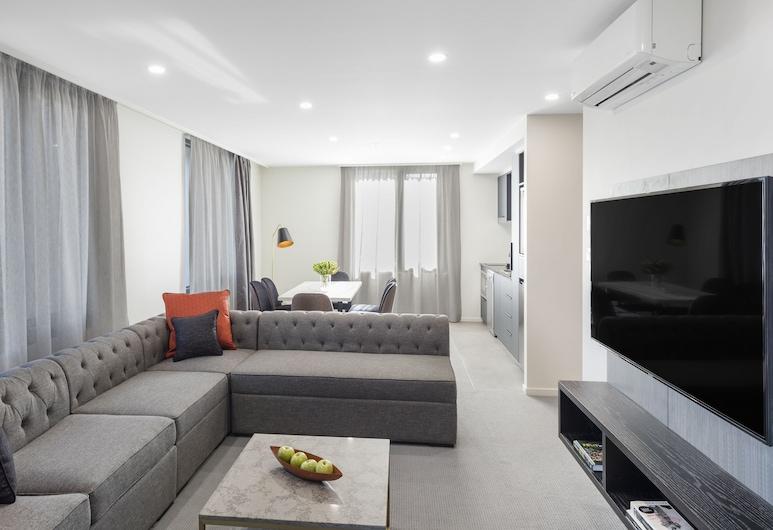 Deco Hotel, Braddon, Apartamento de lujo, 2 habitaciones, 2 baños, Habitación