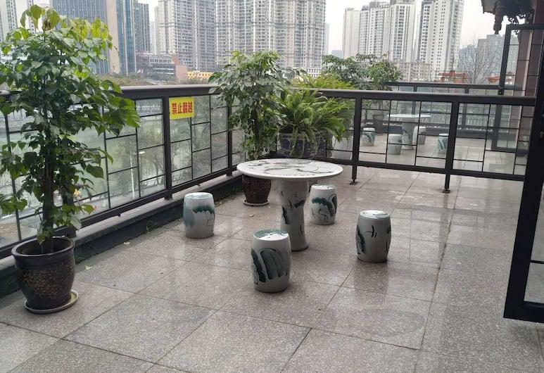 Chunyi Art Hotel Jiuyanqiao Branch, Chengdu, Chambre Double Exécutive, Balcon